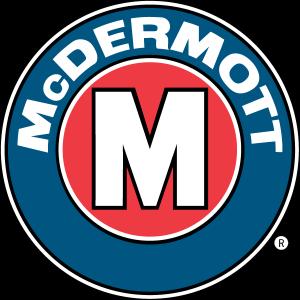 McDermott logo a J. Ray Company clear